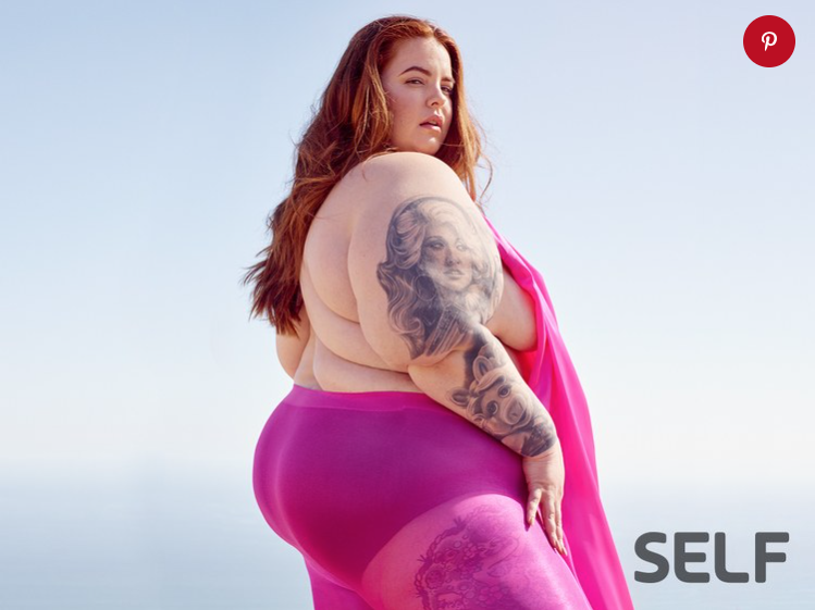 Tess Holliday for Self Magazine