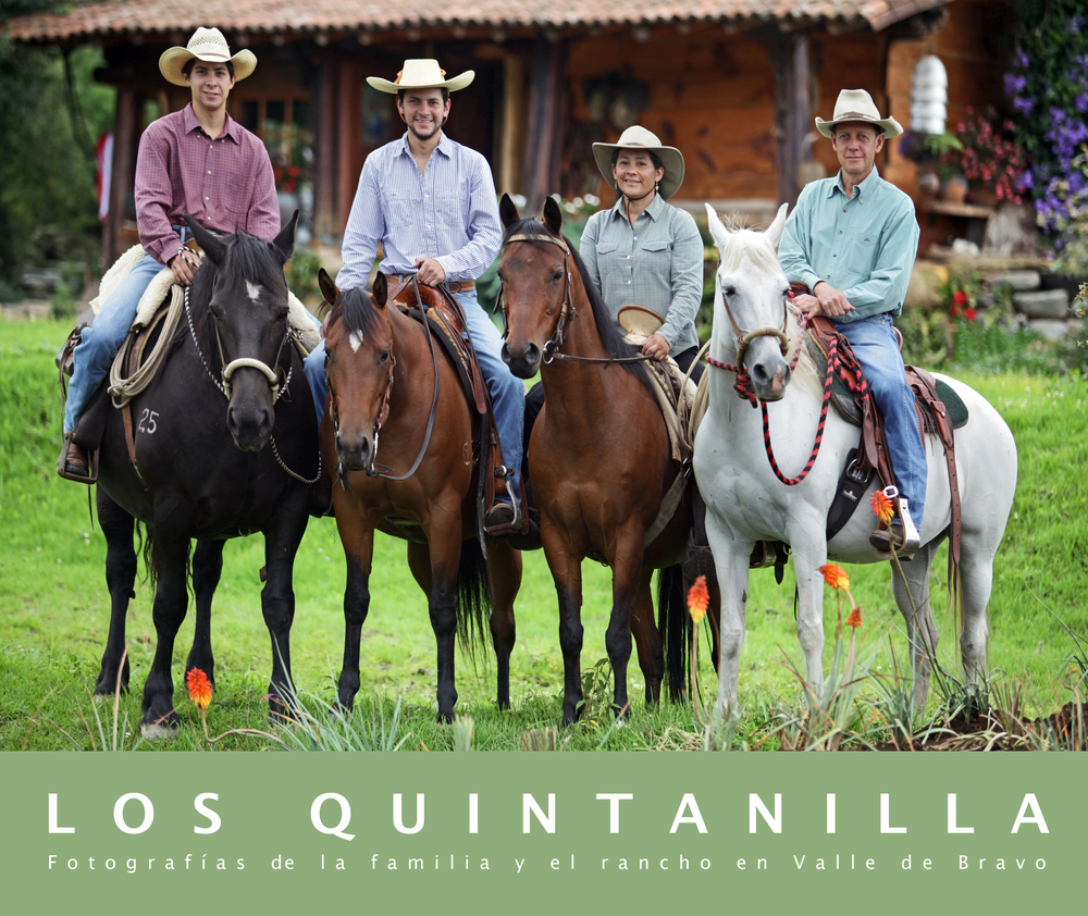 "Los Quintanilla   Fotografias de la Familia y el Rancho en Valle de Bravo   Hardcover. 13 by 11 inches, 152 pages    An intimate book about a family of artist living in a ranch in Valle de Bravo, Mexico.                       Normal   0           false   false   false     EN-US   JA   X-NONE                                                                                                                                                                                                                                                                                                                                                                              /* Style Definitions */ table.MsoNormalTable 	{mso-style-name:""Table Normal""; 	mso-tstyle-rowband-size:0; 	mso-tstyle-colband-size:0; 	mso-style-noshow:yes; 	mso-style-priority:99; 	mso-style-parent:""""; 	mso-padding-alt:0in 5.4pt 0in 5.4pt; 	mso-para-margin:0in; 	mso-para-margin-bottom:.0001pt; 	mso-pagination:widow-orphan; 	font-size:12.0pt; 	font-family:Cambria; 	mso-ascii-font-family:Cambria; 	mso-ascii-theme-font:minor-latin; 	mso-hansi-font-family:Cambria; 	mso-hansi-theme-font:minor-latin;}"