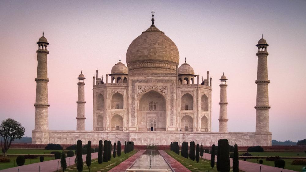 Taj Mahal in Agra, Uttar Pradesh
