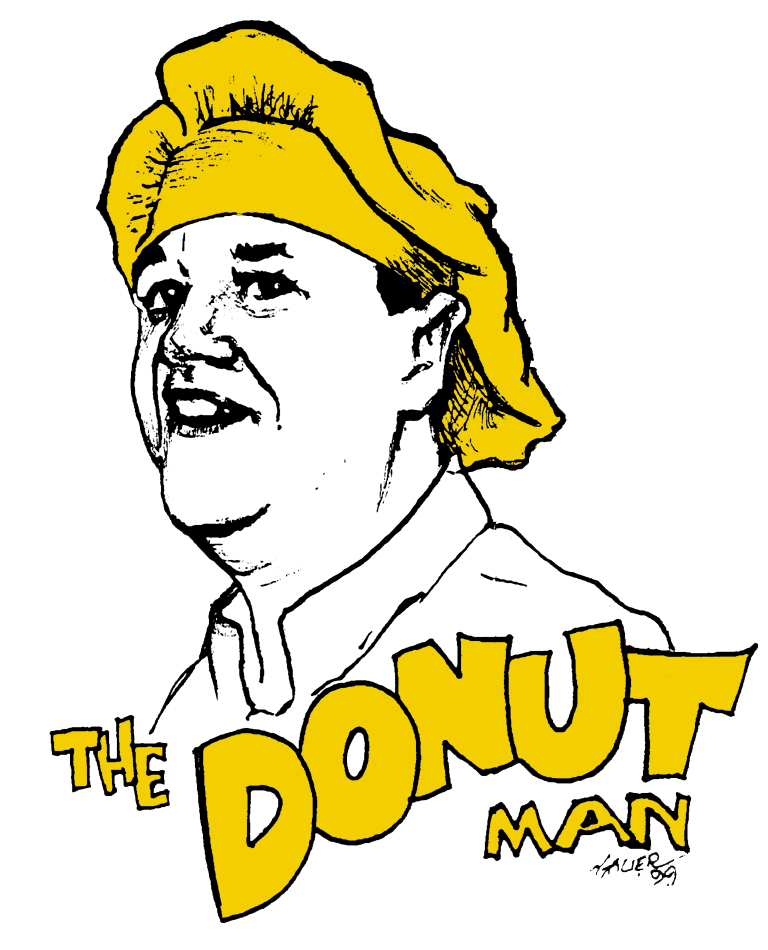 """The Donut Man says """"Kosher Means Quality!"""""""
