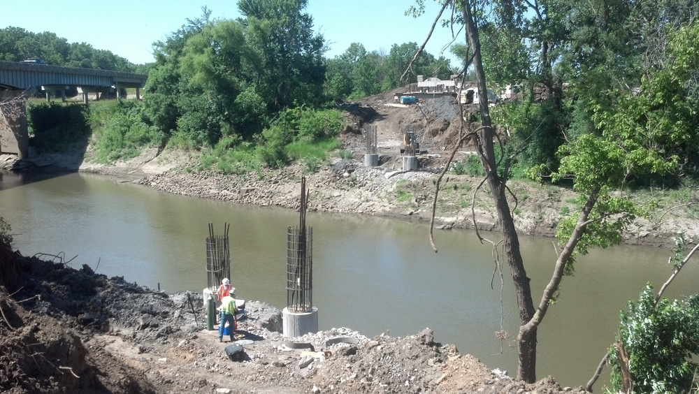 Hwy 71 Outer Rd construction over Bates County Drainage Ditch in Progress.jpg