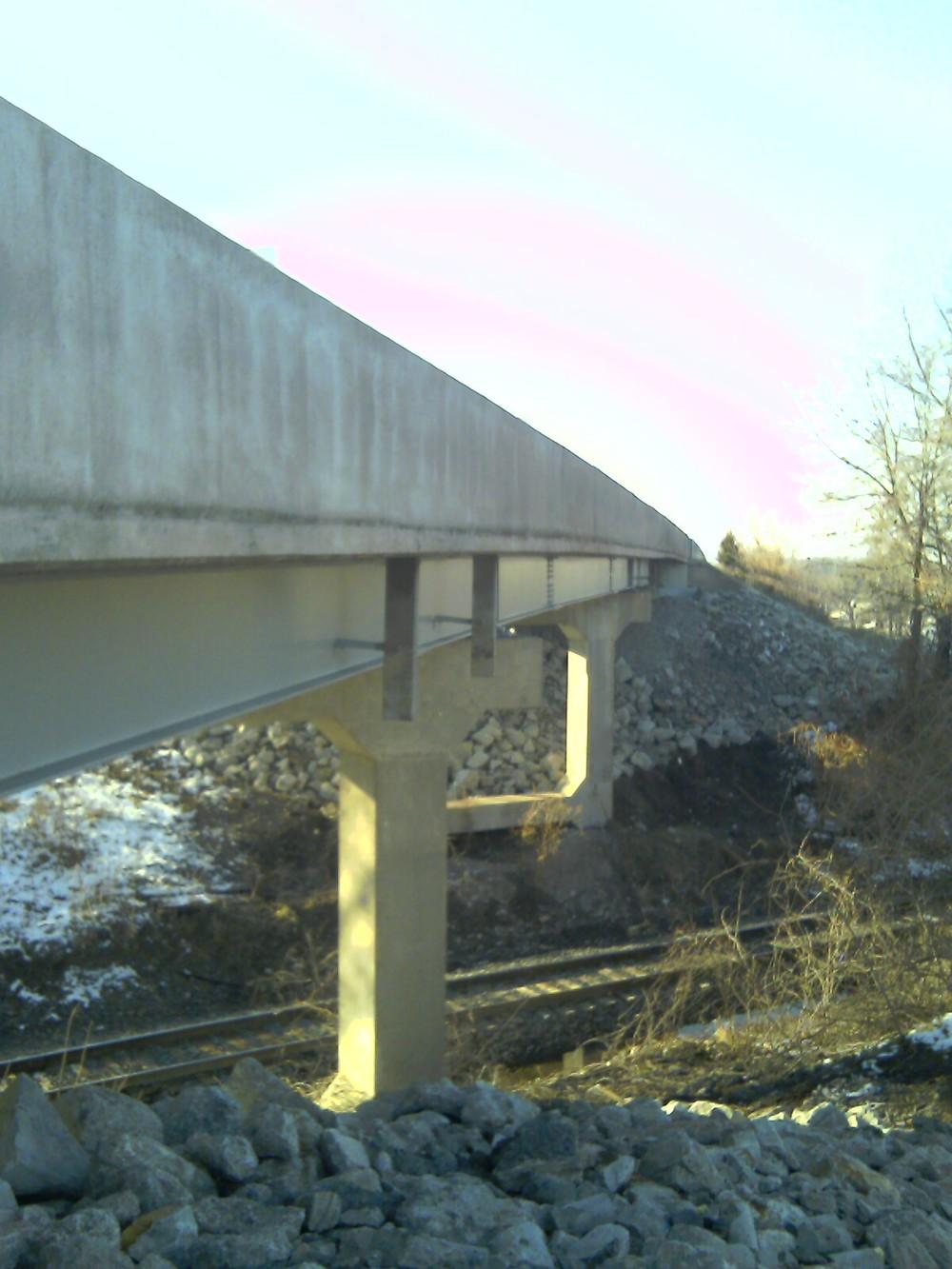 Rte. O Redeck over BNSF Odessa, MO
