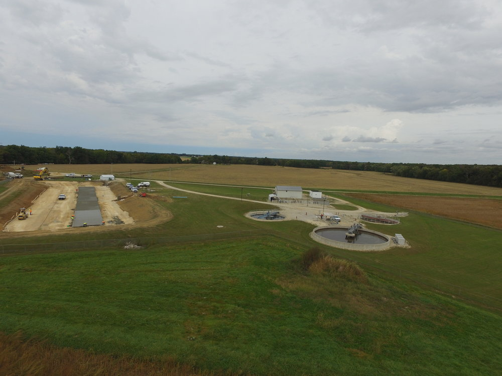 Montgomery City WWTP Clarifiers and Basin Lining