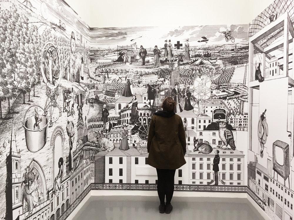 Alice Smith Womens Suffrage mural installation shot 2.jpg