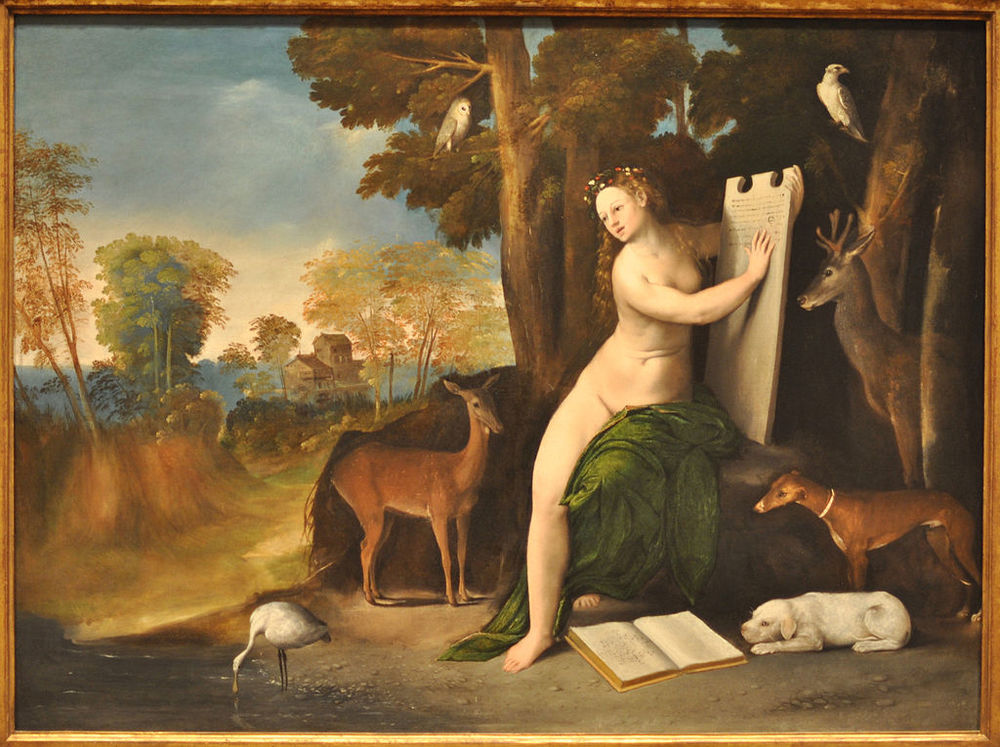 "Dosso Dossi's ""Circe and her Lovers"", c.1525, National Gallery, London"