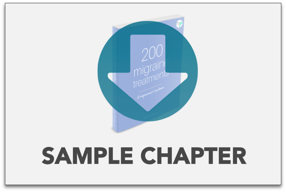 view a sample chapter from the premium 200 migraine treatment book