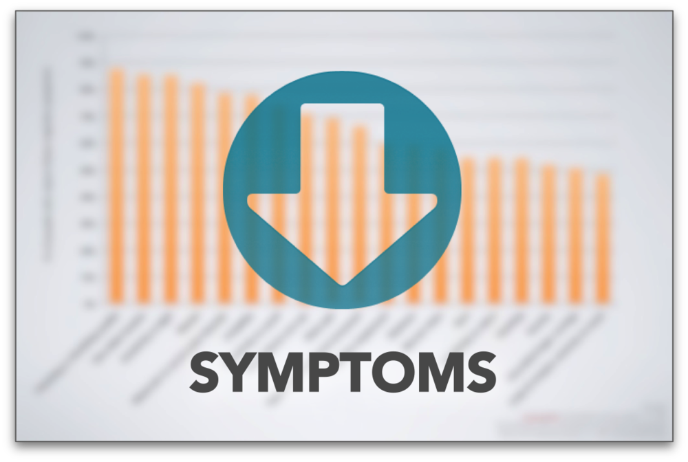 FIND OUT HOW COMMON (OR UNCOMMON) YOUR MIGRAINE SYMPTOMS ARE WITH THIS SYMPTOMS CHART