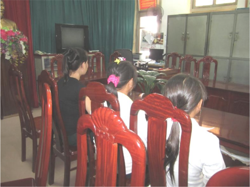 Rescue 1 In May 2015, Blue Dragon and Vietnamese police worked together to stop 3 girls, D, (aged 17), P (aged 15) and H (aged 14) from being trafficked. They live in a remote mountainous area and were told that they could get a good job in China. As the persons telling them this were members of their own commune, they believed them and they left home without telling their families where they were going. Fortunately for them, their families raised the alarm within the day, and Blue Dragon's rescue team, together with the Vietnamese police, made a mad dash to the border in the hope of intercepting the girls before they were sold to the sex trade in China. It was a close shave for the girls as they were rescued in the nick of time. It was a matter of minutes before the girls were to be trafficked across the border. 24 Hour Race funds were used to support this rescue and bring the young women back home.