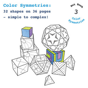 3D coloring books - cubes and things — Stacy Speyer