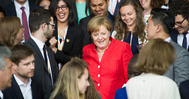 Photo credits:Bundesregierung / Steffi Loos.