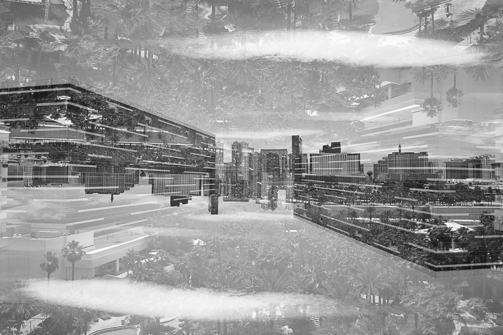 From here and away Kahren Sabater double exposure