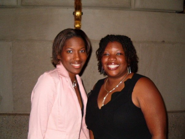 Chanceé and I at the Congressional Black Caucus in 2005