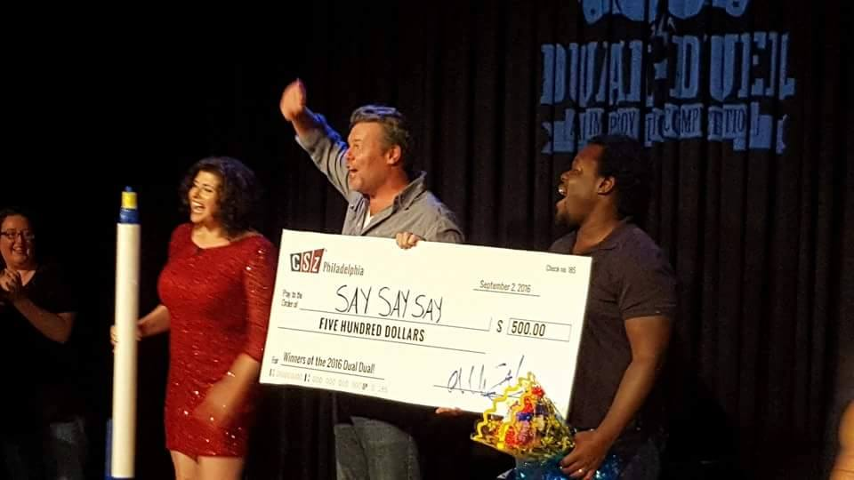 "Dual duel 2016 winners: ""say say say"" (Eoin o'shea and darryl charles)"