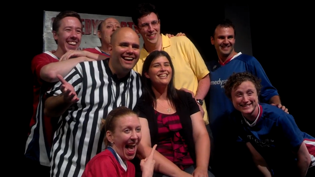 julie and mike sinkoff with players (2012)