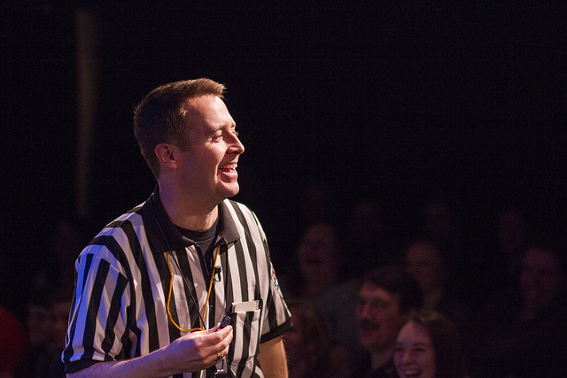 The Referee at ComedySportz