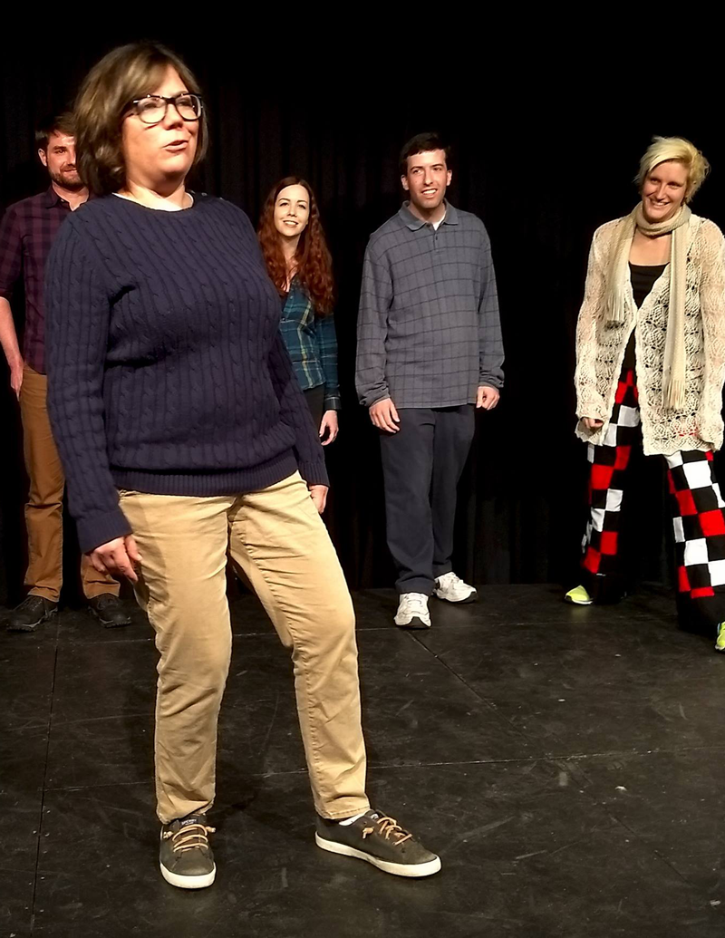 CSz Philly Improv Students in Class