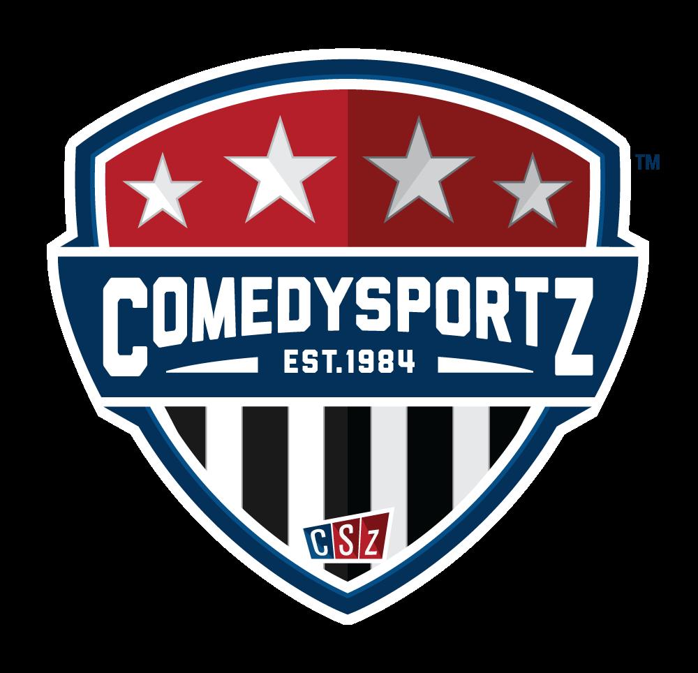 ComedySportz Shield Logo