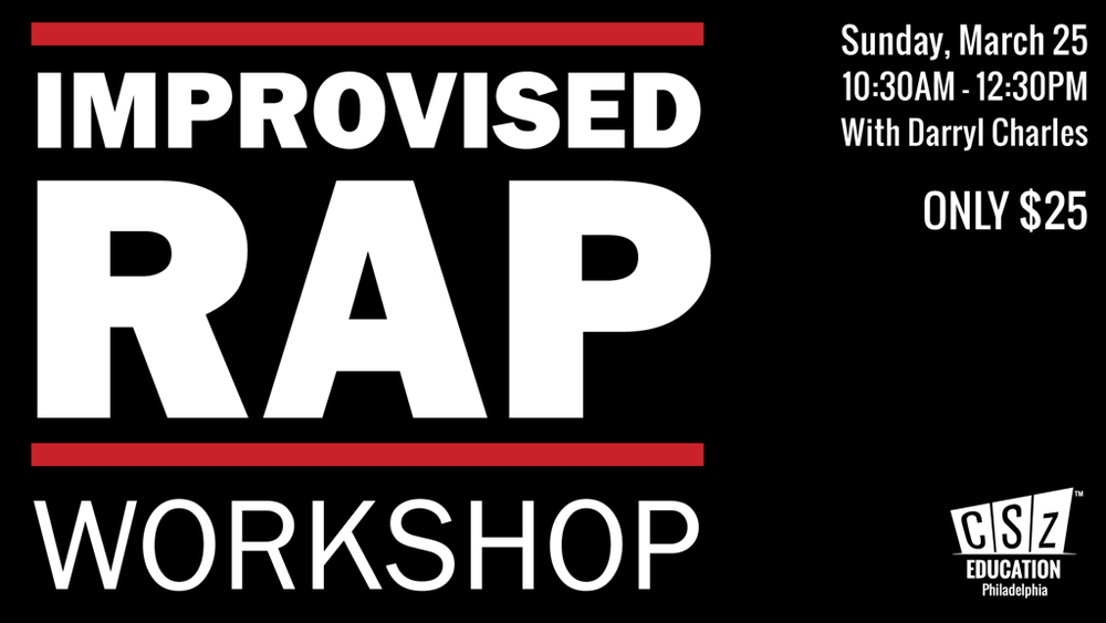 Improvised Rap Workshop