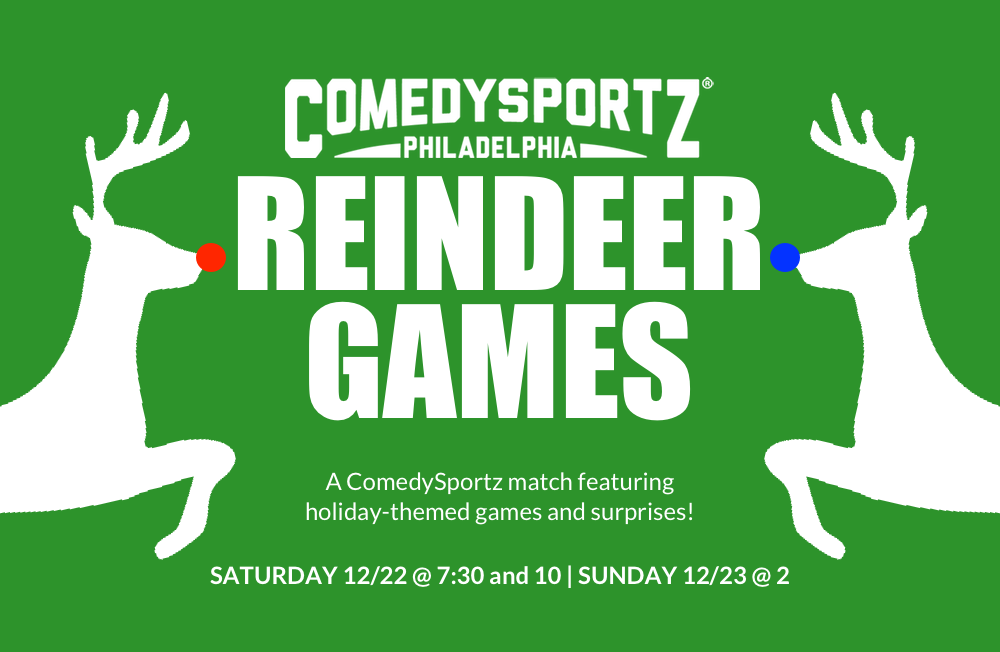 ComedySportz Reindeer Games Holiday Comedy Show