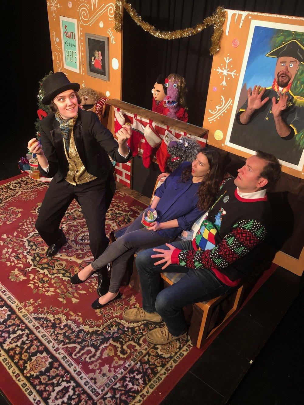 Ismaela Stewart , Aly Mazzie and Dave Sucharski