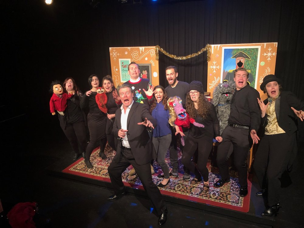 Eoin O'Shea and the Cast of CHRISTMASTOWN, PA