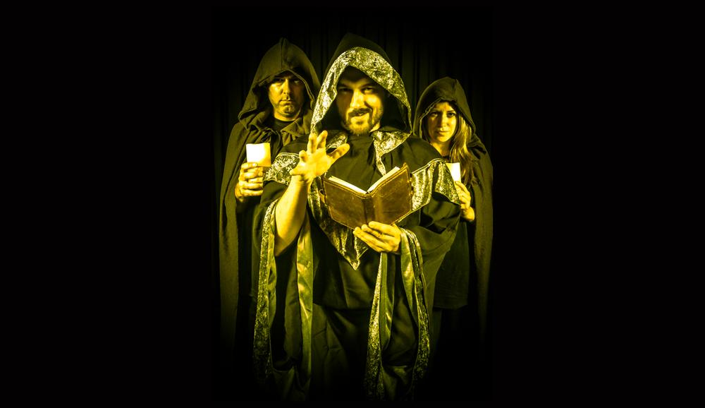Josh Holober-Ward as Dungeon Master (with NPCs Kevin Regan and Emily Davis)