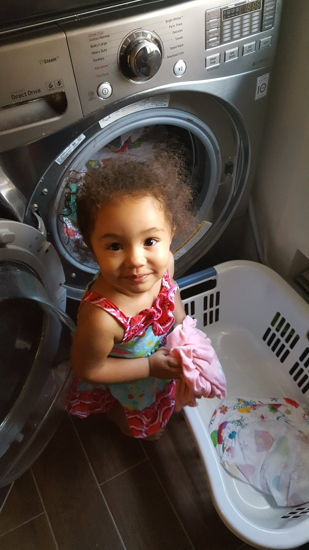 At Least my Oldest Helps with Laundry
