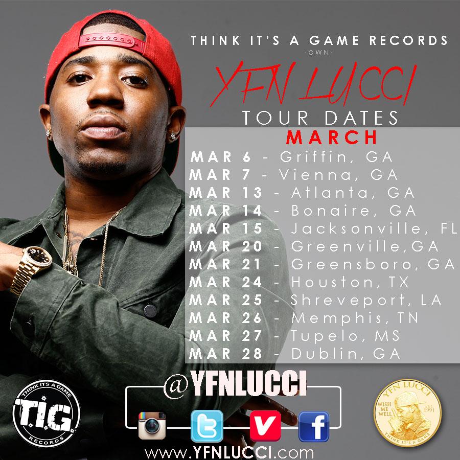 YFN Lucci Tour dates!