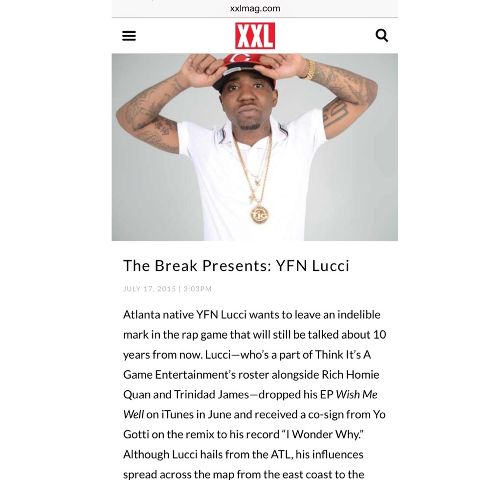You can read the full article here at   XXL