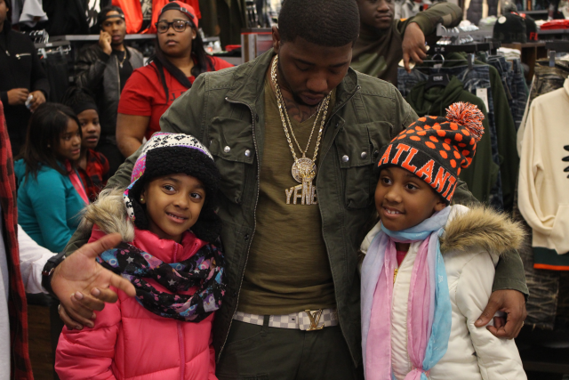 "While some are kicking back their feet during the holidays, others took the time out of their busy schedule to give back.  On Tuesday, Nov. 24,  Think It's A Game Records  and  DTLR  clothing store put smiles on many faces as they kicked off the first annual ""Turkey Giving"" drive, hosted by hip-hop's up-and-coming artist YFN Lucci. The Atlanta native created a stir as he greeted many of those in line with handshakes and hugs. The goal for the ""Turkey Giving"" event was to provide over 200  turkeys  for families, and lift the spirits of men, women and children in need this season.  T.I.G Records is continuously growing and implementing new and innovative ideas to serve the community and support families who need assistance.  The event took place at two DTLR store locations; South DeKalb Mall and Camp Creek Marketplace in Atlanta. In attendance were Fly, the CEO of TIG Records; and Kim Smith,  11 Alive  sports reporter.  Via  www.rollingout.com"