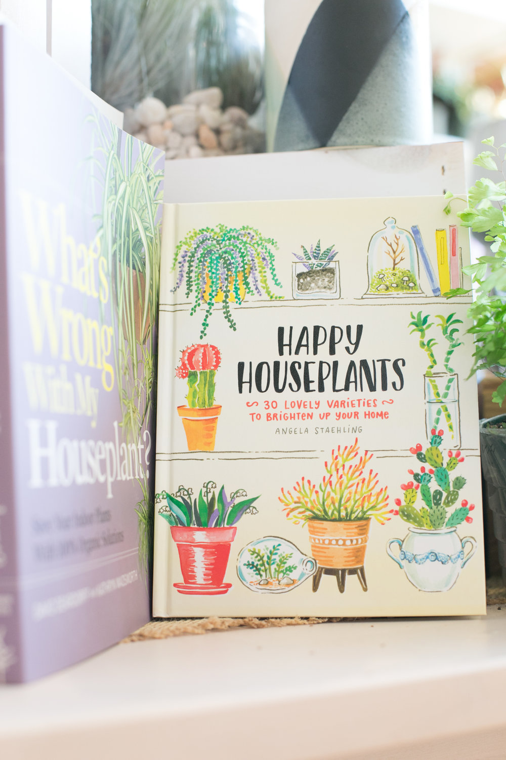 We carry a great selection of books to help you care for plants.