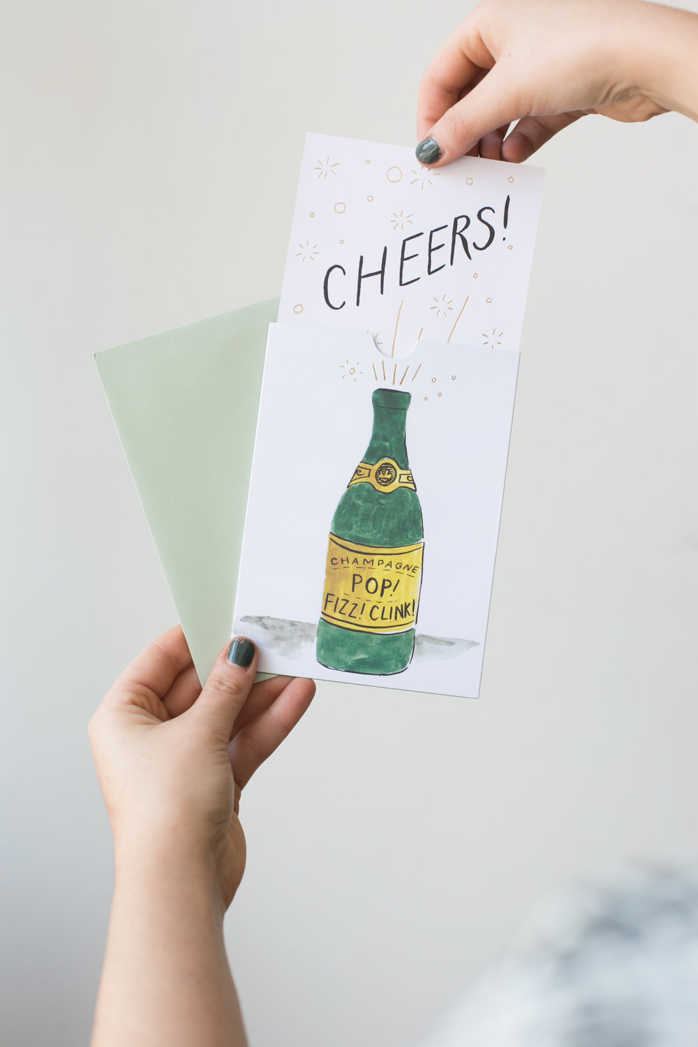An inexpensive gift to give a party host is one of our fun pop-up cards. Attach them to another host gift, or send it as a follow up thank you note.