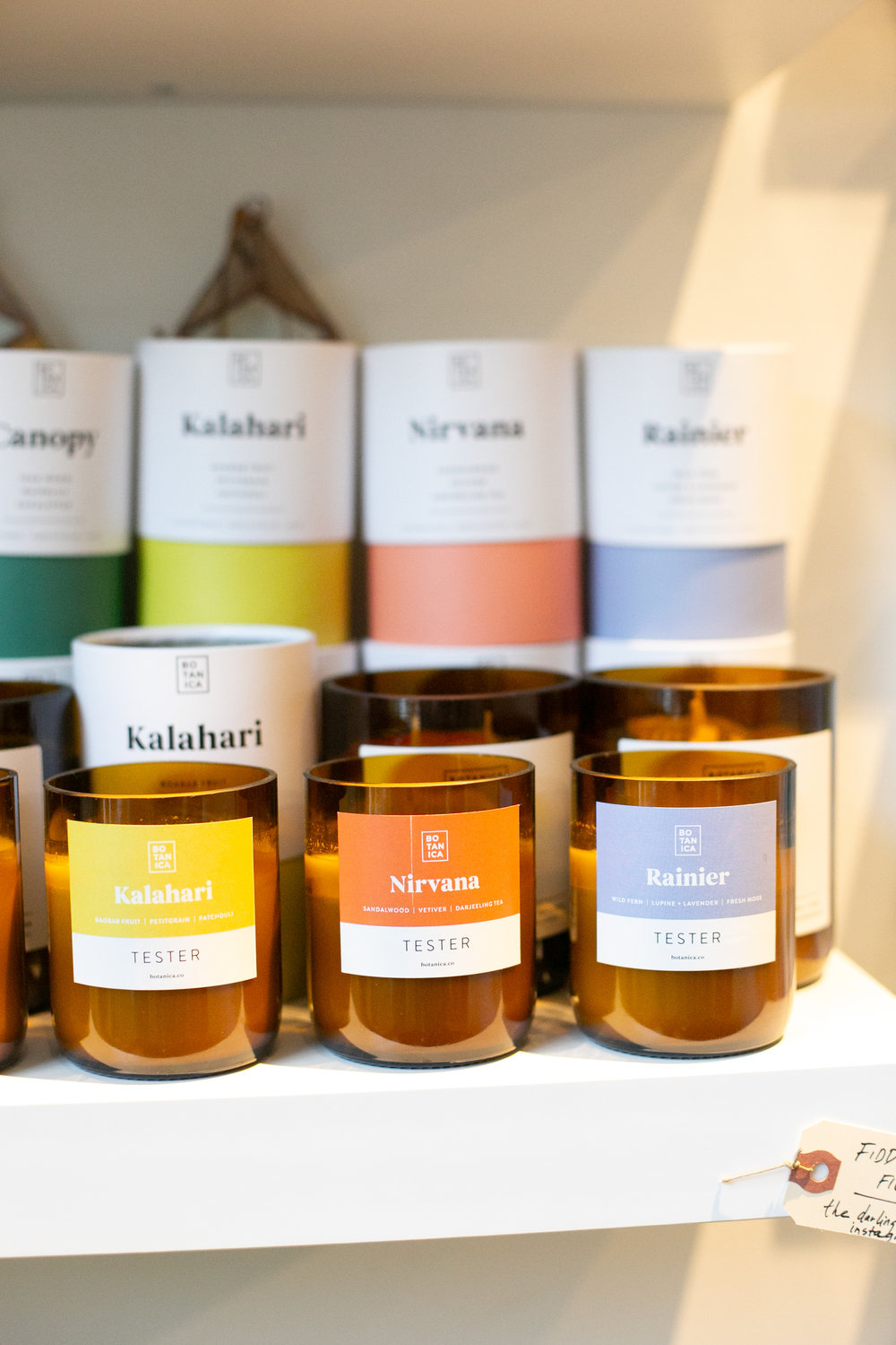 We like to pick a candle that matches a cause we know the party host cares about. For example, the Kalahari scent goes to wildlife conservation in Africa and would be great for an animal or nature lover.