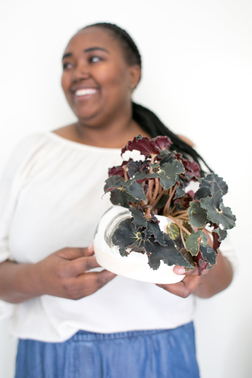 Become a plant guru - just like our owner, Megan, who's a podcast junkie.