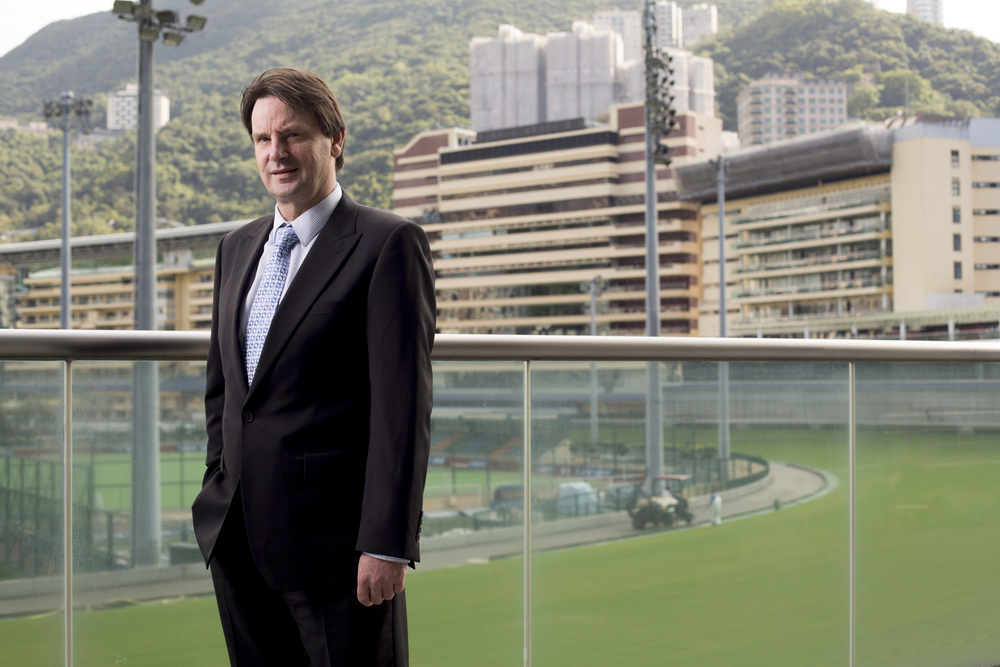 Ian Dickson, Head of Strategic Business Solutions at The Hong Kong Jockey Club