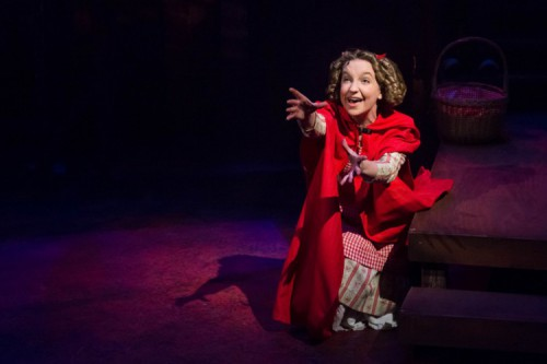 Nykeigh Larson stars as Little Red Ridinghood