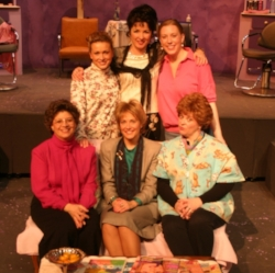 Cast of  Steel Magnolias , produced during our 8th season.