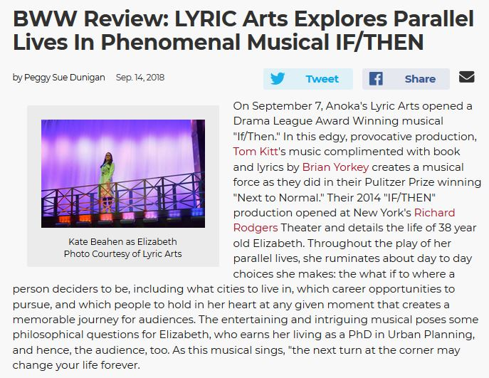 READ FULL REVIEW FROM BROADWAY WORLD