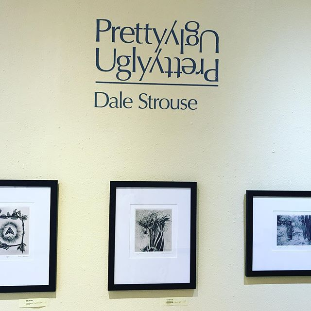 "Opening Tonight! Dale Stouse's ""PrettyUgly"" at Angst gallery"