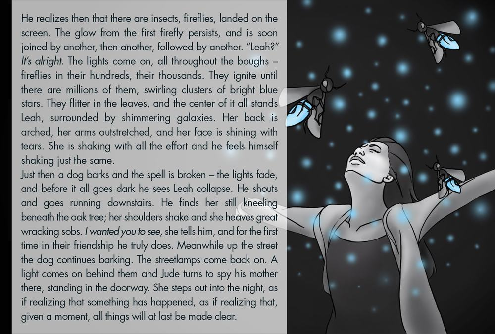 Monthly Fiction Maker illustration illustraded story Seth Marlin Alyssa Cooper page 29