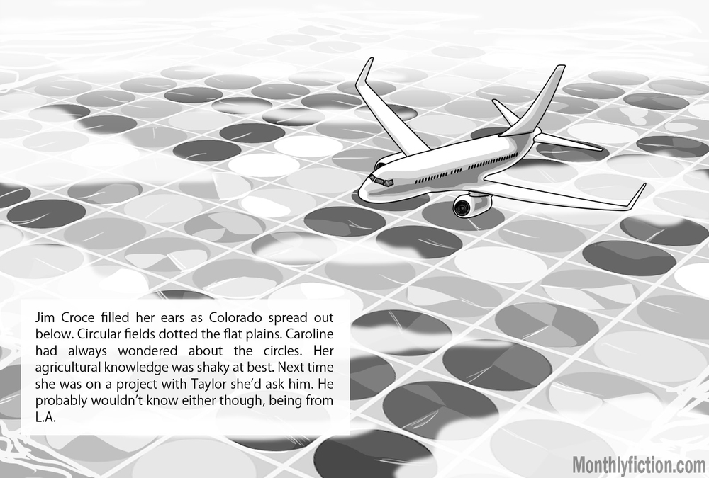 Monthly Fiction Takeoffs and landings illustration illustraded story deborah burke camilo sandoval page 5