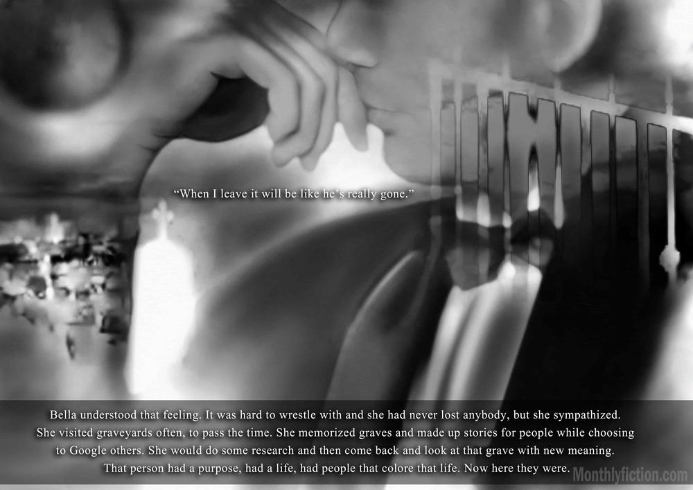 Monthly Fiction Amethyst illustration illustraded story stephanie weber ida softic page 28