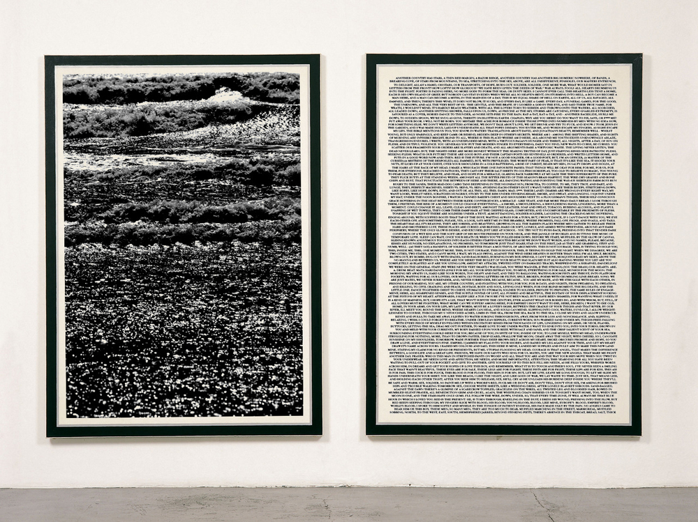 Guy Peppin   Beachhead   2013.   Screen-print on paper (150 × 100 cm each.)