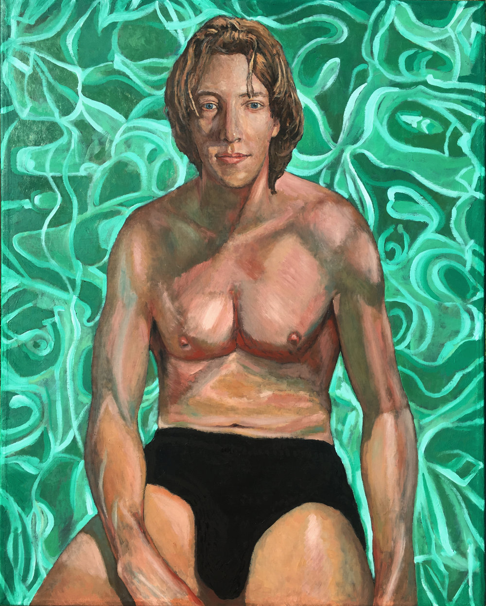 Self Portrait as Swimmer 2018