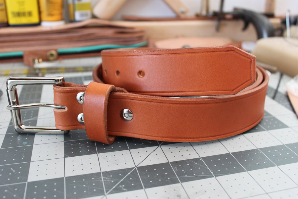 Fiera1 Handmade leather Belt