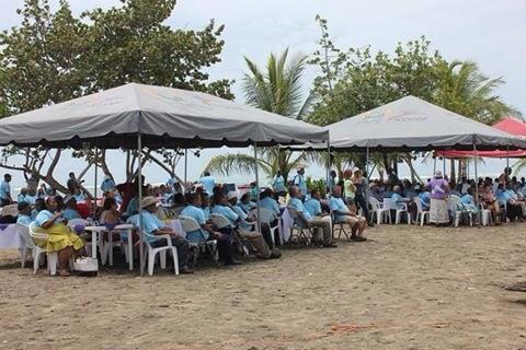 Día de Adultos Mayores in Manzanillo, June 18, 2015.