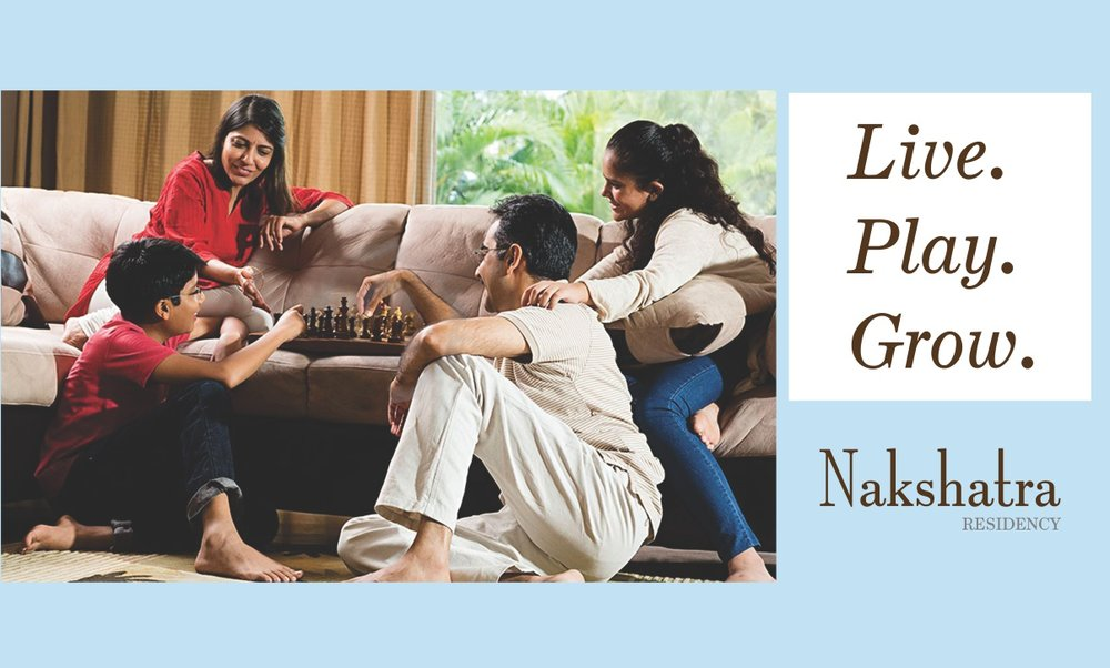 Real Estate Brochure for Nakshatra Residency     Click here for more...
