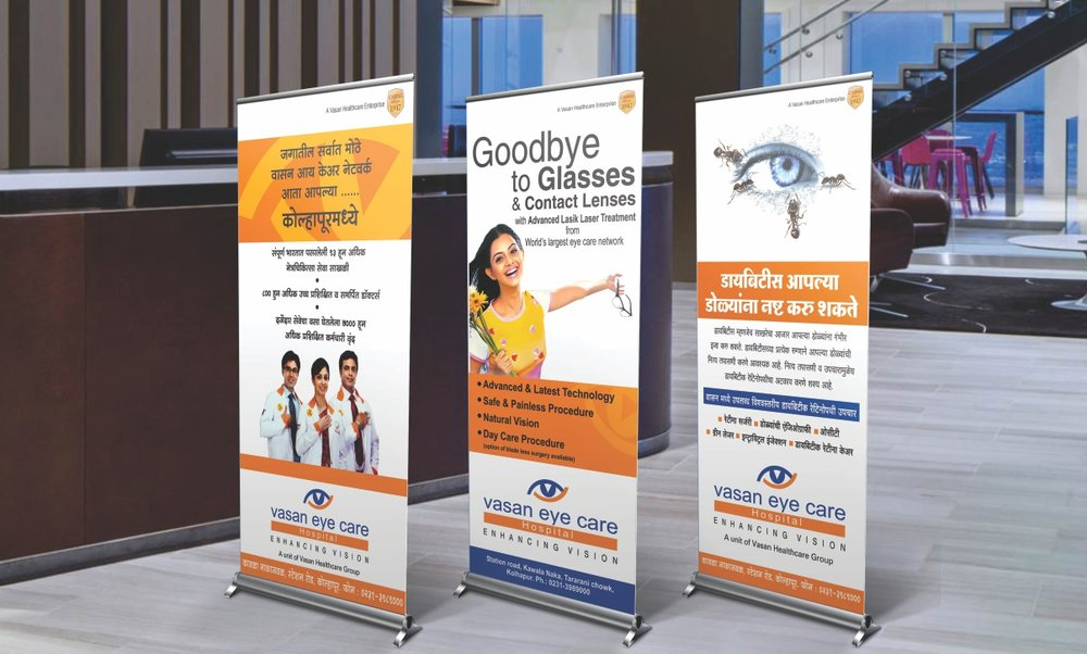 Campaign design & execution of Vasan Eye Care Centre     Click here for more...