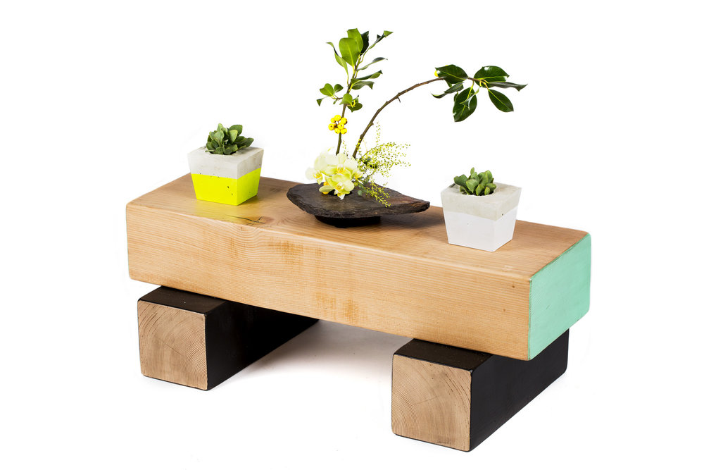 BLOCK STACK PLANT STAND