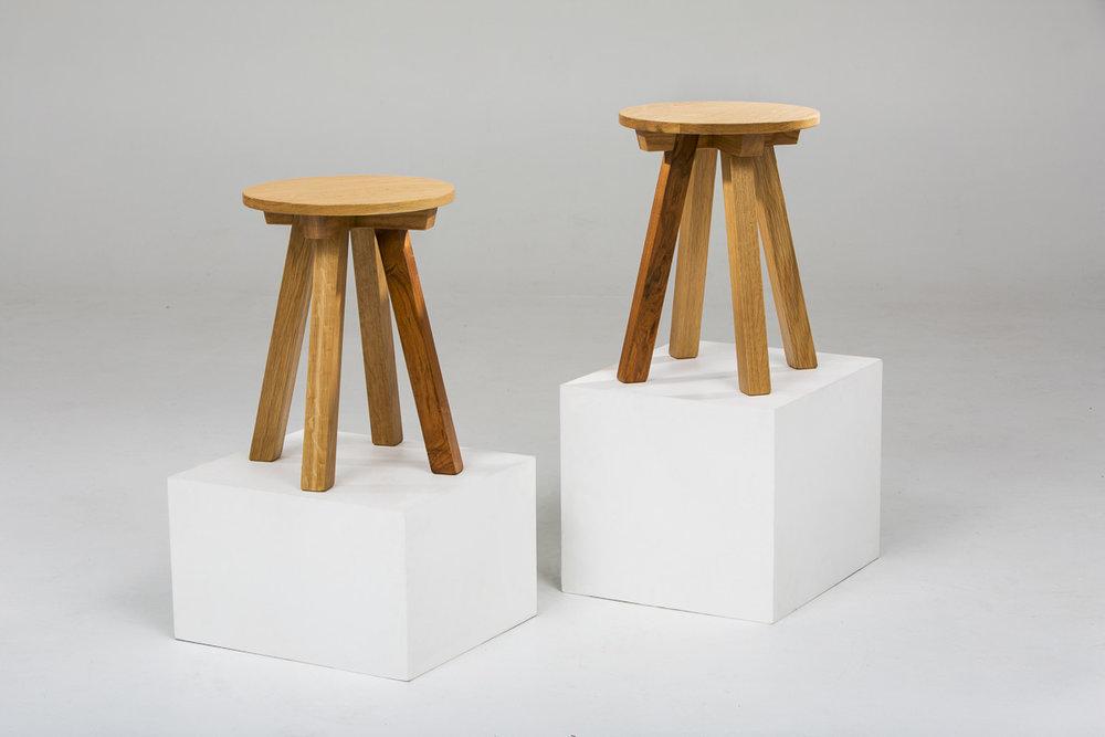OAK-B SERIES: SIDE TABLES